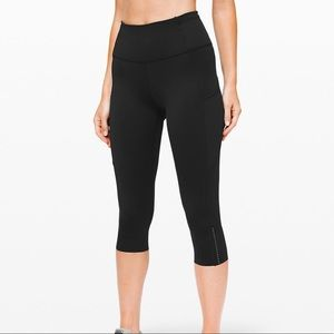 NWT LULULEMON FAST AND FREE CROP 4